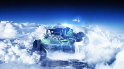 House in the clouds 1