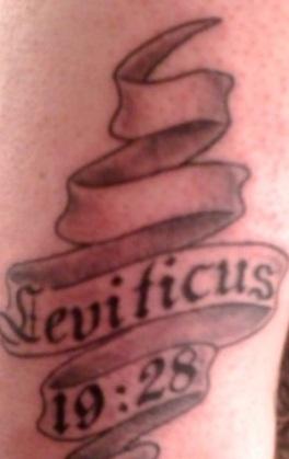 Leviticus 19 28